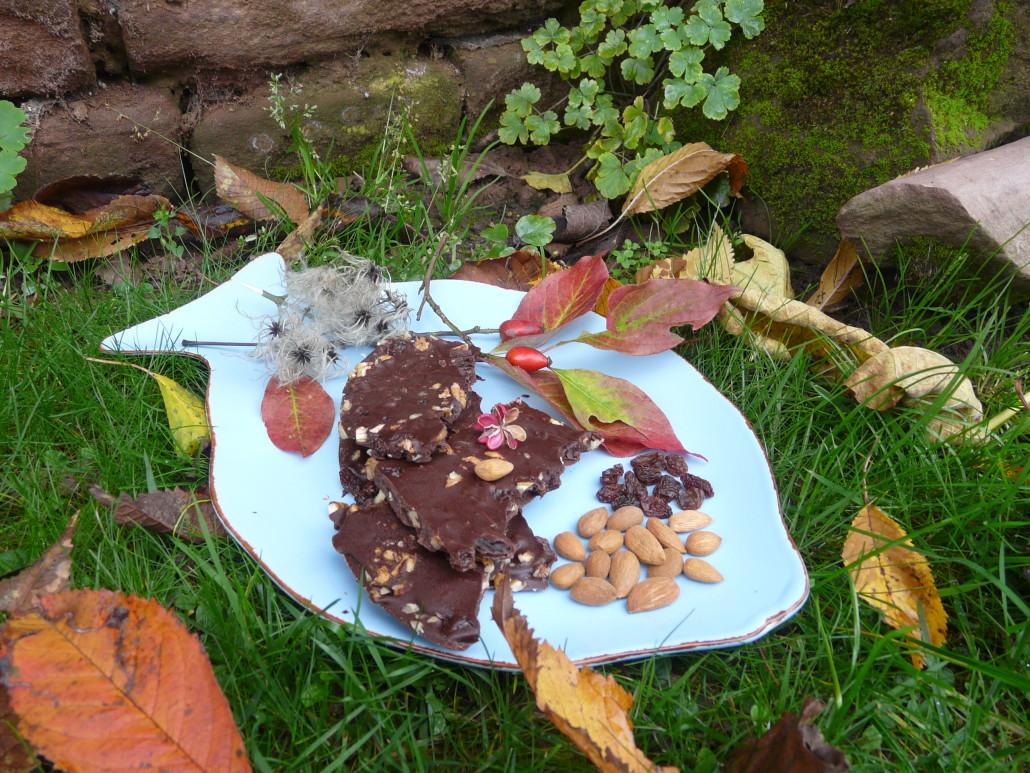 Sauerkirschen Zimt Schokolade Rohkost froh leben