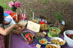 Veganer Potluck Eisweiher Pirmasens Mandelmus Kinderglueck