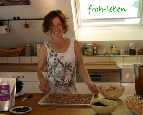 Crunchies Rohkost-Granola Katja Friedrich froh-leben