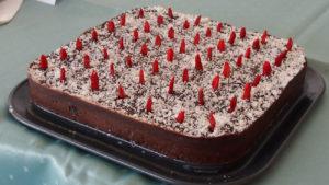 Schoko-Chia-Brownie-Kuchen Tina Stanilewicz KarlsROH-Brunch froh-leben