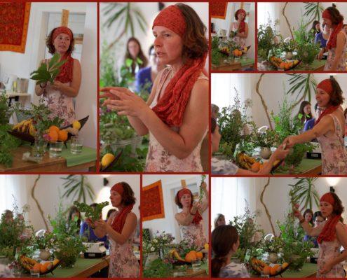 Kraeuterwanderung Collage Katja Friedrich froh-leben Ipanema