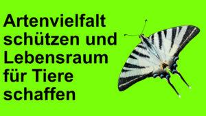 Artenvielfalt schuetzen und Lebensraum schaffen Dr Birgitta Goldschmidt Katja Friedrich