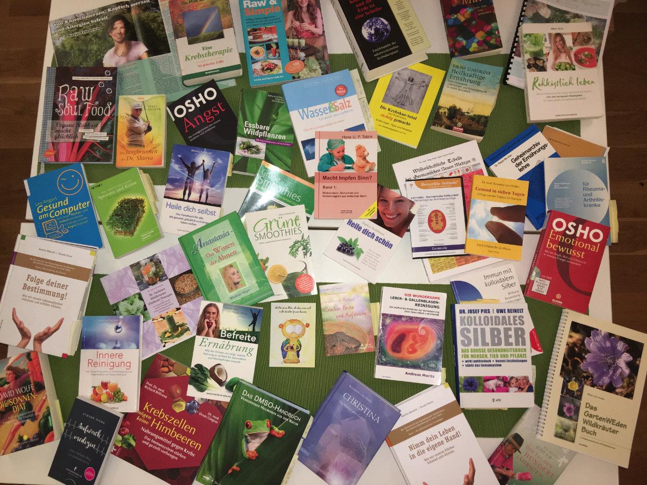 Hilfreiche Literatur Krebs Stoffwechsel- Erkrankungen froh leben