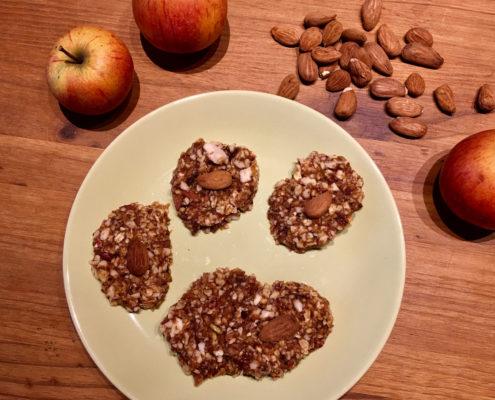 Mandel-Zimt-Apfel-Taler froh-leben