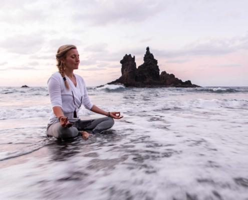 Catherine Scheitterlein Vegan Feeling Leben in Balance Meditation Yoga