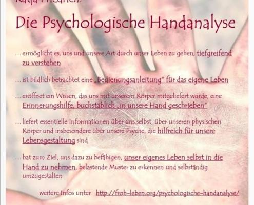 Psychologische Handanalyse Katja Friedrich Begegnungszentrum Mittendrin Pirmasens